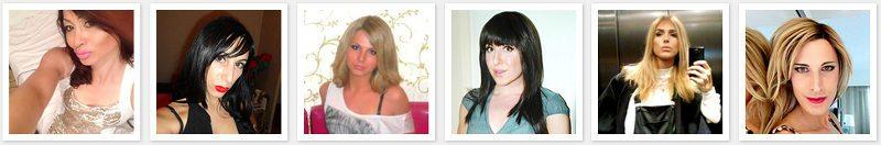 Profils transexuels et ladyboys connectés aux sites de rencontre qui cherchent du dating