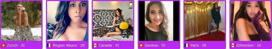 Photo de membres du site de dating transexuels pour rencontrer de nouvelles personnes
