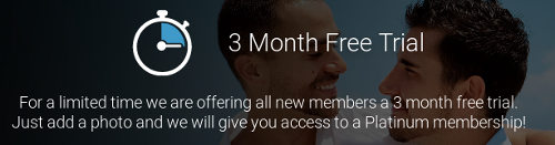 3 mois gratuits sur Gaycupid.com pour tester votre abonnement Platinum