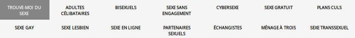 AdultFriendFinder a un forum, chat en direct, filtres de recherche pour site de rencontre